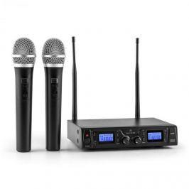 Malone Duett Pro V1, 2 csatornás UHF vezeték nélküli mikrofon készlet, 50 m-es hatókör