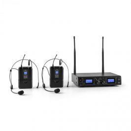Malone Duett Pro V2, 2 csatornás UHF vezeték nélküli mikrofon készlet, 50 m-es hatókör