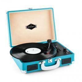 Auna Peggy Sue, retró lemezjátszó, LP, USB, kék