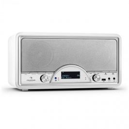 Auna Virgina WH DAB/DAB+ digitális rádió, Bluetooth, USB, FM, AUX, MP3, fehér