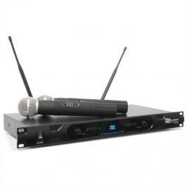 Power Dynamics PD722H, 2 csatornás UHF vezeték nélküli mikrofon rendszer, 2 x vezeték nélküli mikrofon