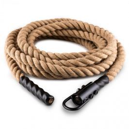 CAPITAL SPORTS Power Rope lengő kötél kampóval 15m/3,8cm, mennyezeti felfüggesztés