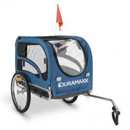 DURAMAXX King Rex kutyaszállító kerékpár utánfutó , acélcsövek 250 l, 40 kg