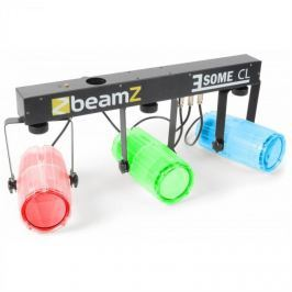 Beamz 3 Some CL, átlátszó, LED fényhatás készlet, 5 részes, T-panel, 171 RGBW LED diódák