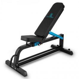 CAPITAL SPORTS Ad Just, fekete, 300 kg, pad súlyzókra, állítható egyenes pad, acél