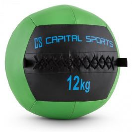 CAPITAL SPORTS Wallba 12, zöld, 12 kg, wall ball, műbőr