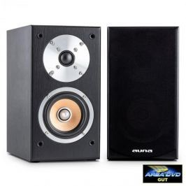 Auna Linie 501 BS-WN passzív polc hangfal pár, 1000 W, fekete