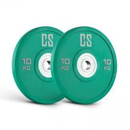 CAPITAL SPORTS Performan Urethane Plates, zöld, 10 kg, pár súlyzótárcsa