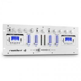 Resident DJ DJ405USB 4-csatornás DJ keverőpult, 2 x bluetooth, USB, SD, AUX, felvétel funkció