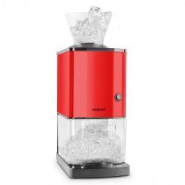OneConcept Icebreaker, piros, jégdaráló 15kg/h teljesítménnyel, 3,5 literes térfogattal, jégtartállyal, rozsdamentes acél