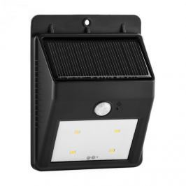 Lightcraft Solarlux kültéri szolár lámpa, mozgás jelzés, 4 LED, hideg fehér, vezeték nélkül