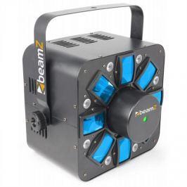 Beamz Multi Acis III, LED fényhatás, stroboszkóp, lézer, RGBAW, tartó mellékelve