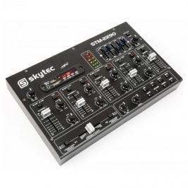 Skytec STM-2290 6-csatornás keverőpult, bluetooth, USB, SD, MP3, FX Többcsatornás keverőpultok