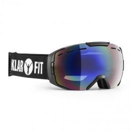 Klarfit Snow View síszemüveg, snowboard, bevonat, fekete