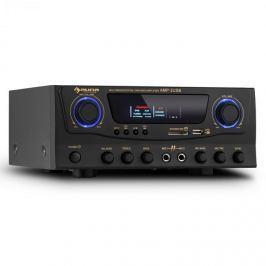 Auna Amp-2, HiFi karaoke erősítő, max. 100 W, USB, SD, MP3