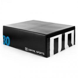 CAPITAL SPORTS Rookso Soft Jump box, plyo box / plyometrikus doboz, 30 cm, fekete
