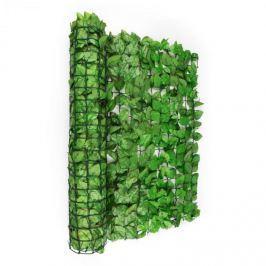 Blumfeldt Fency Bright Leaf, világoszöld, bükk, kerítés, védelmet nyújt a kíváncsi tekintetekkel és a széllel szemben, 300 x 100 cm