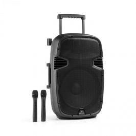 Malone Bushfunk 45 aktív PA hangfal, 900 W, bluetooth, akkumulátor, USB, SD, MP3, VHF