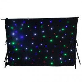 Beamz SparkleWall, LED függöny, 96 RGBW LED dióda, 3 x 2 m, controllel távirányító mellékelve