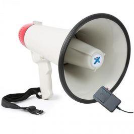 Vexus MEG040, megafon, 40 W, felvételkészítő funkció, sziréna, mikrofon, működtetés elemekkel, pánt