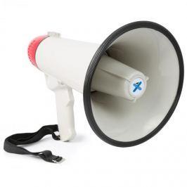 Vexus MEG045, megafon, 40 W, felvételkészítő funkció, sziréna, USB, SD, AUX, üzemeltetés elemekkel, szíj