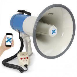 Vexus MEG055, megafon, 55 W, bluetooth, USB, SD, MP3, felvételkészítő funkció, mikrofon, működtetés elemekkel