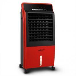 OneConcept CTR-1 4 az 1-ben hordozható légtisztító, 65 W, távirányító, piros