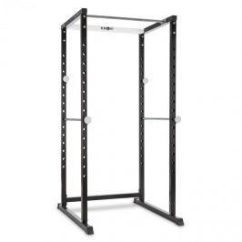 Klarfit PR1000, edző állvány, acél, kétkezes súlyzótartó, biztonsági támaszok
