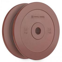 CAPITAL SPORTS Methoder tárcsasúly, gumi, pár, 2,5 kg, piros