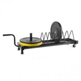 CAPITAL SPORTS Plarak, súlytárcsatartó állvány, szállítókerekek, max. 500 kg
