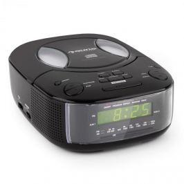 Auna Dreamee BK, fekete, rádió ébresztőóra CD lejátszóval, FM/AM, AUX, kettős ébresztőóra
