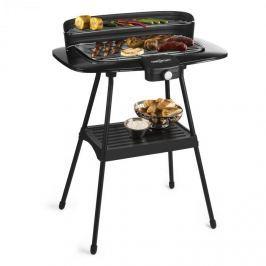 OneConcept Satansbraten XXL, 2200 W, elektromos grillsütő, álló grillsütő, asztali grillsütő