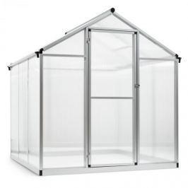 Blumfeldt Greencastle 3K üvegház, 190 x 195 x 182 cm (SZxMxM), alumínium, műanyag
