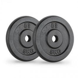 CAPITAL SPORTS IPB 5, fekete, súlytárcsák, pár, 30 mm, 5 kg