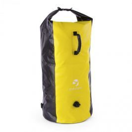 Yukatana Quintono 100 trekking hátizsák, 100 liter, vízálló, fekete/sárga