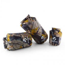 Yukatana Treckset Camo vízálló hátizsák szett, 3 darab, 5/15/20 l, terepminta