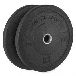 CAPITAL SPORTS Renit, hi temp gumikerék, 50,4 mm, alumínium mag, gumi, 2 x 5 kg