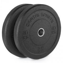 CAPITAL SPORTS Renit, hi temp gumikerék, 50,4 mm, alumínium mag, gumi, 2 x 10 kg