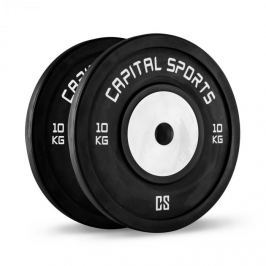 CAPITAL SPORTS Inval, bumper versenytárcsák, alumínium mag, pár 2 x 10 kg