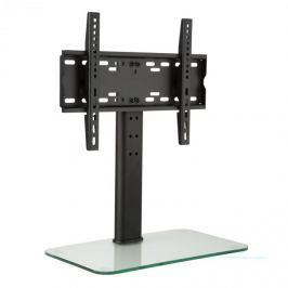 Auna TV állvány, M méretű, 56 cm-es magasság, állítható magasság, 23-47 hüvelyk, üveg állvány