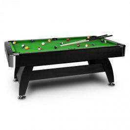 """OneConcept Brighton Black, zöld, 7"""" (122 x 82 x 214 cm), biliárdasztal, kellékek"""