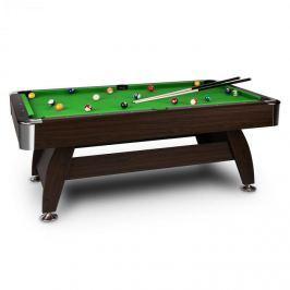 """OneConcept Leeds, zöld, 8"""" (122 x 79 x 244 cm), biliárdasztal,"""