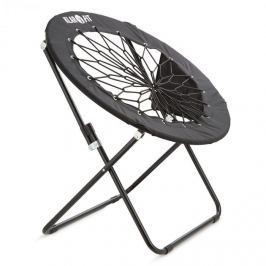 Klarfit Bounco, fekete, bungee szék, 81 x 41/85 cm
