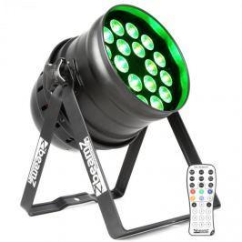 Beamz BPP210 LED PAR reflektor 64, 18 x 12 Wattos 4 az 1-ben LED dióda, távirányító