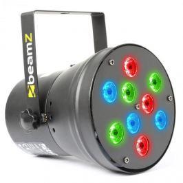 Beamz beam Z LED Par36 Spot LED fényhatás, 9 x 1W, RGB, DMX
