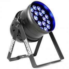 Beamz BPP205 LED PAR reflektor 64, 18 x 15 Wattos 5 az 1-ben LED dióda, RGBAW-UV