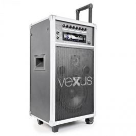 "Vexus ST110, mobil PA rendszer, 20 cm (8""), CD, SD, USB, MP3"