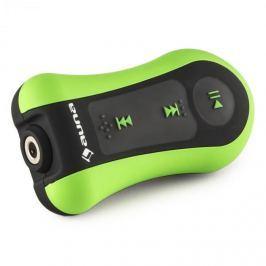 Auna Hydro 4 MP3 lejátszó, zöld, 4 GB, IPX-8, vízálló, csíptető, fülhallgató