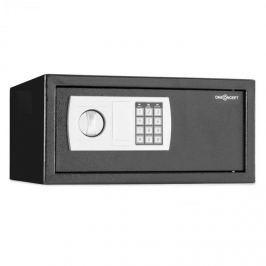 OneConcept Hotelguard Laptopsafe elektromos számzáras széf, falra rögzítendő