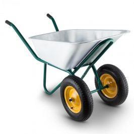 Waldbeck Heavyload talicska, 120l, 320kg, kerti talicska, kétkerekű, acél, zöld